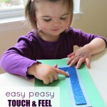 Alphabet For Starters – Easy Touch and Feel Alphabet