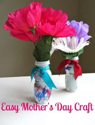 Easy Mothers Day Craft For Kids No Time For Flash Cards