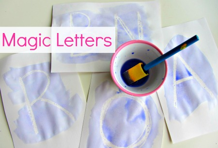Alphabet For Starters - Magic Letters - No Time For Flash Cards