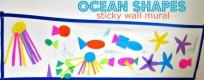 Ocean Shape Mural