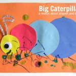 Big Caterpillar Craft For Kids