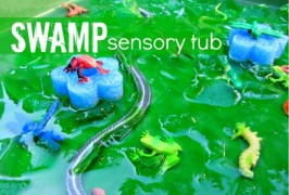 Swamp Sensory Tub