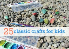 25 basic crafts for kids