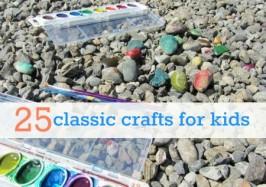 25 basic crafts for kids
