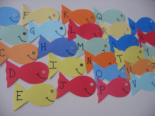 classic letter fishing game