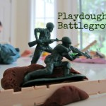 Playdough Battleground – Fine Motor Pretend Play