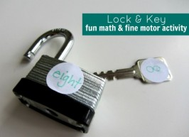 Lock & Key – Math Activity