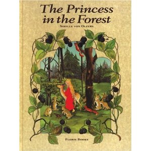 princess in the forest