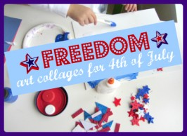 4th of july proect for preschool