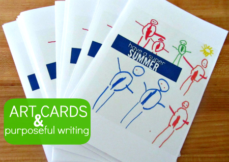 real life writing for kids