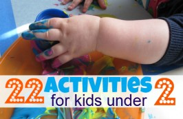 22 Activities For Kids Under 2