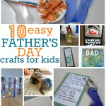 10 Easy Father's Day Crafts