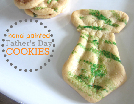 easy father's day cookies