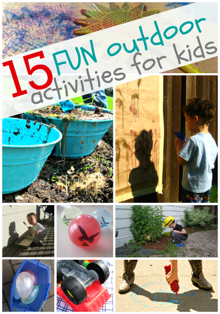 15 Fun Outdoor Activities For Kids No Time For Flash Cards