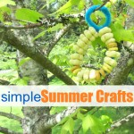 Simple Summer Crafts For Kids – Bird Feeder