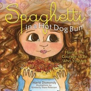 spaghetti in a hotdog bun