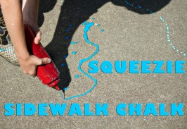 Sidewalk Chalk Recipe & Activity