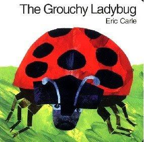 very grouchy ladybug