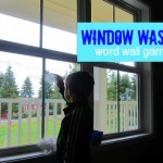 Window Washer Word Wall