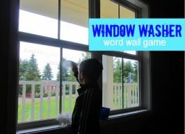 Window Washer Word Wall