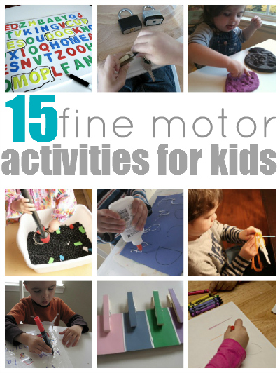 Fine Motor Activities For Kids Skills Pictures