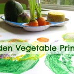 Garden Vegetable Printing
