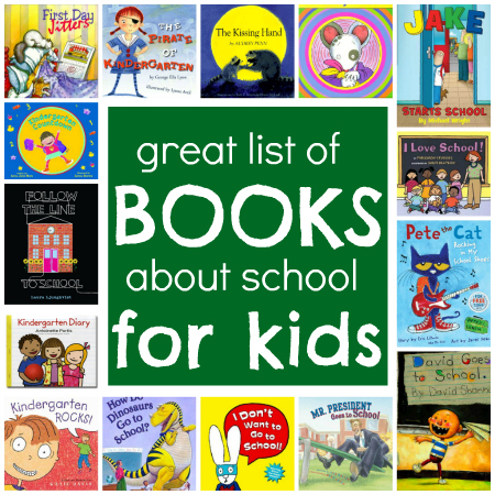 children's books about school