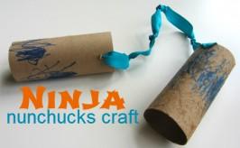 Ninja Nunchucks Craft