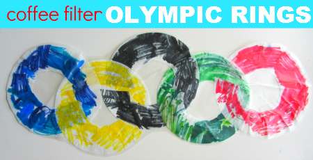 easy olympic kids craft