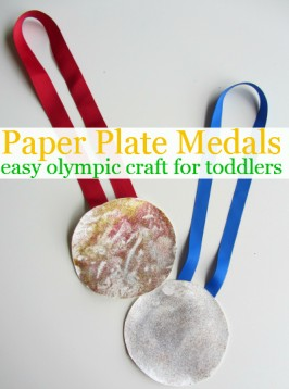 Olympic Medal Kids Craft