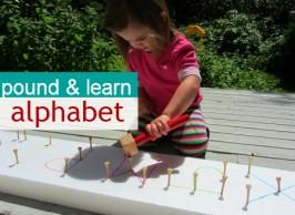 Pound & Learn Alphabet  – Alphabet For Starters