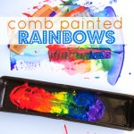 Rainbow Painting – Simple Summer Crafts