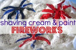 Simple Patriotic Sensory Activity