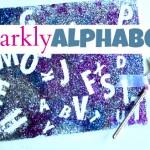 Sparkly Alphabet Craft – Alphabet For Starters