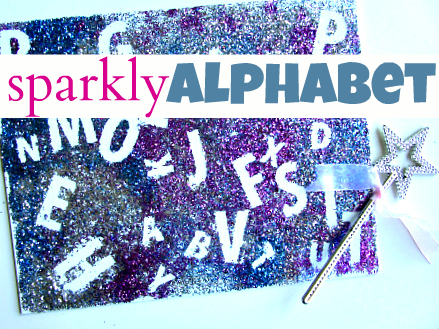alphabet for starters crafts