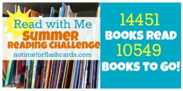 Summer Reading Challenge Update