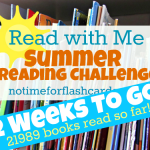 Summer Reading Challenge 2 Weeks To Go!