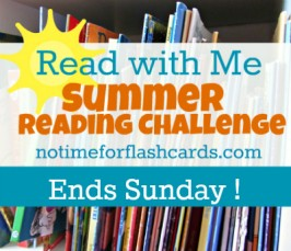 Summer Reading Challenge – Ends Tomorrow