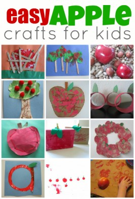 Easy Apple Crafts For Kids