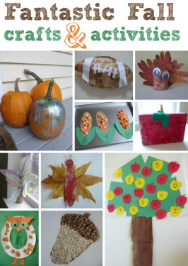 Fall Crafts & Activities For Kids