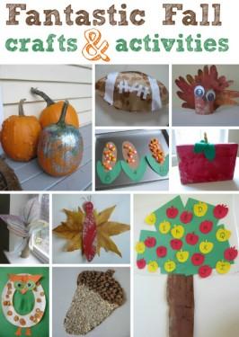 autumn crafts for preschool