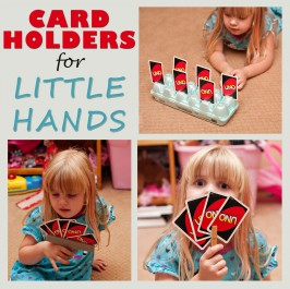 3 Different Playing Card Holders For Little Hands