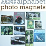 Alphabet Photo Magnets – Alphabet For Starters