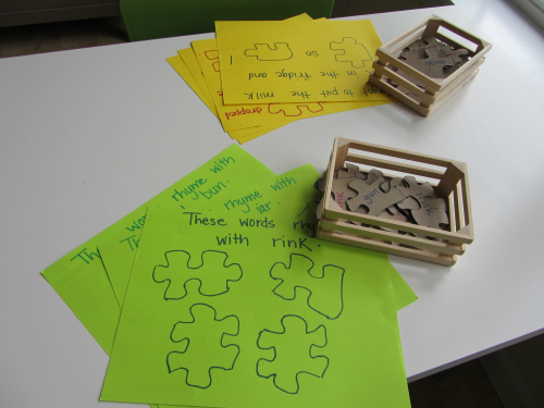 Simple Word Puzzles For Kids