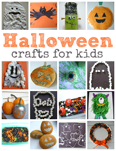 Easy halloween crafts for kids for Simple fall crafts for kids