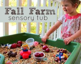 harvest sensory tub