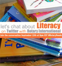 Join The Conversation About Literacy & Rotary International