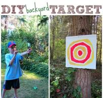 backyard target