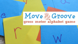 Move & Groove – Gross Motor Alphabet Game