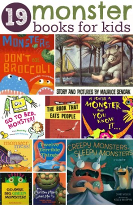19 Monster Books For Kids